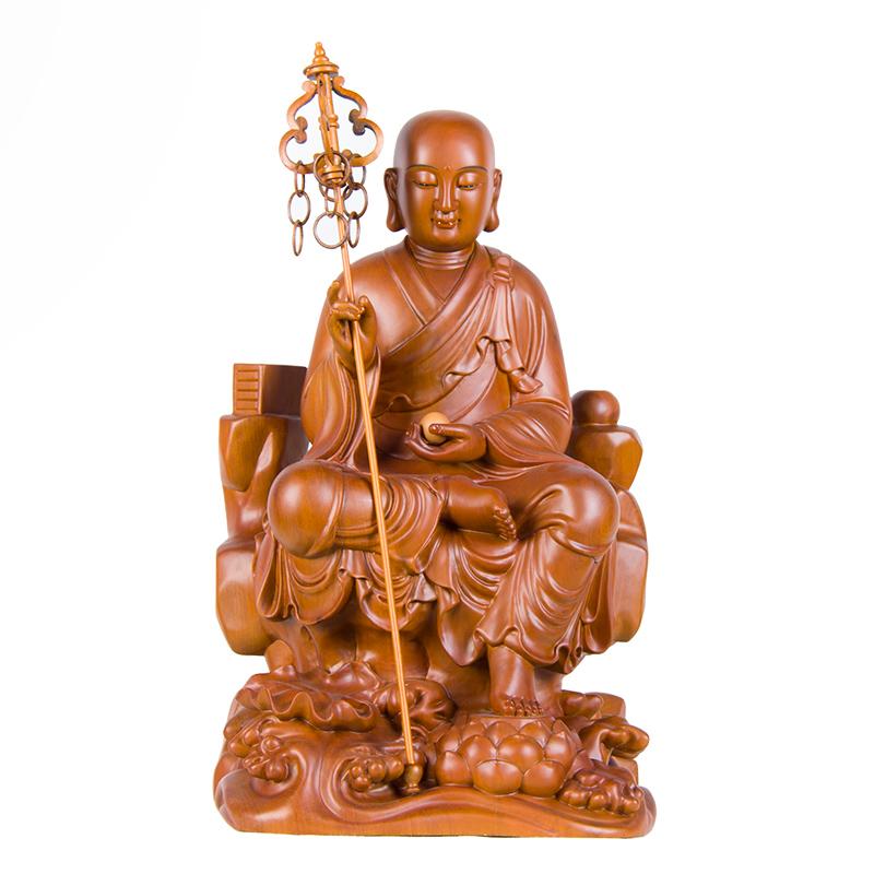地藏王菩薩梢楠木(12寸)