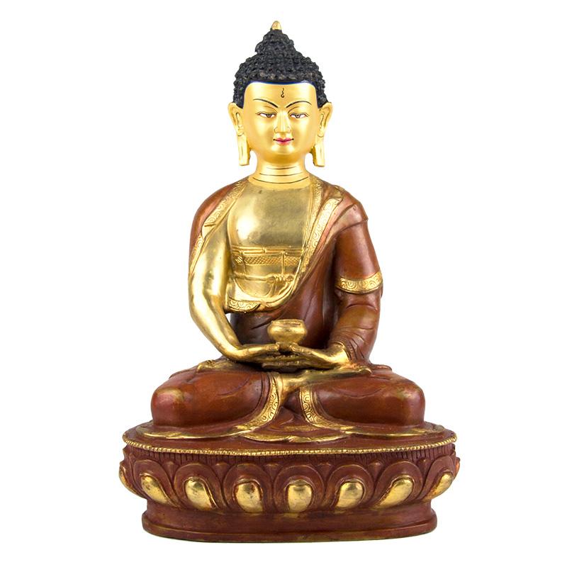 阿彌陀佛 銅像手工打造(10寸)